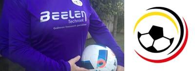Sponsoring damesteam Estria, SCV en GVV >